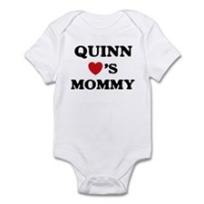 Quinn loves mommy Infant Bodysuit