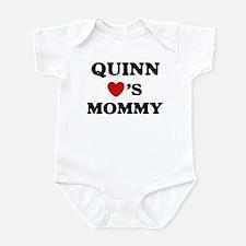 Quinn loves mommy Infant Bodysuit