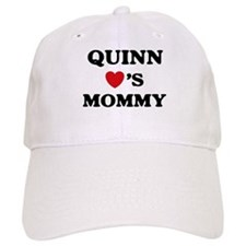 Quinn loves mommy Baseball Baseball Cap