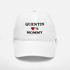 Quentin loves mommy Baseball Baseball Cap