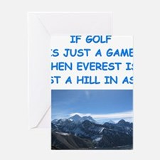 GOLF6 Greeting Cards