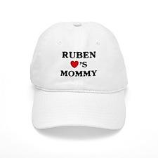 Ruben loves mommy Baseball Cap