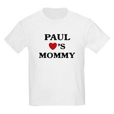 Paul loves mommy T-Shirt