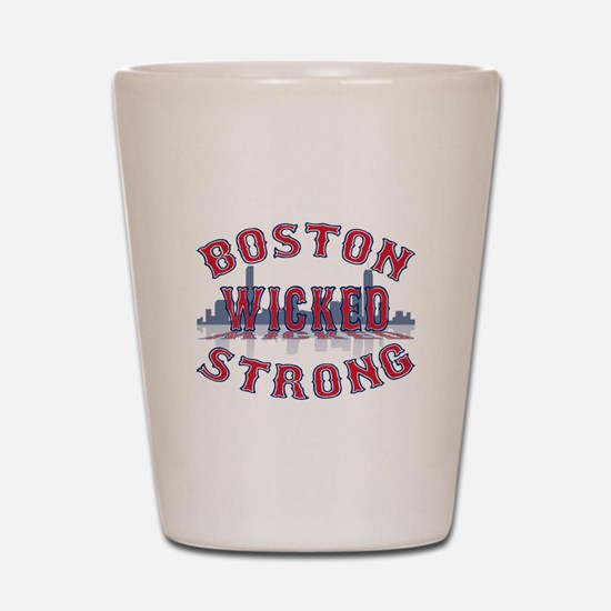 Boston Wicked Strong Shot Glass