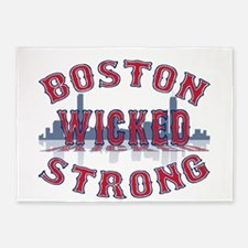 Boston Wicked Strong 5'x7'Area Rug
