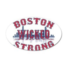 Boston Wicked Strong Wall Decal