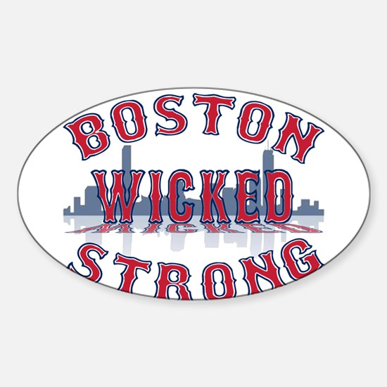 Boston Wicked Strong Decal