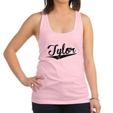 Tylor, Retro, Racerback Tank Top