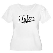Tylor, Retro, Plus Size T-Shirt