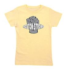 Boston Strong Iron Fist Girl's Tee