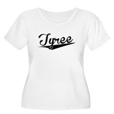 Tyree, Retro, Plus Size T-Shirt