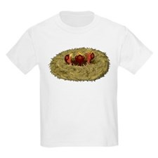 Birds nest with 3 hungry chicks T-Shirt