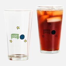 Soccer Sport Drinking Glass