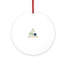 STAR GOALIE Ornament (Round)