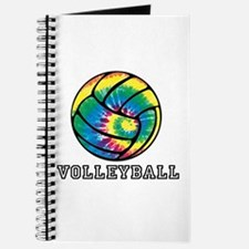 Tie Dyed Volleyball Journal