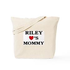 Riley loves mommy Tote Bag