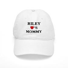 Riley loves mommy Baseball Cap
