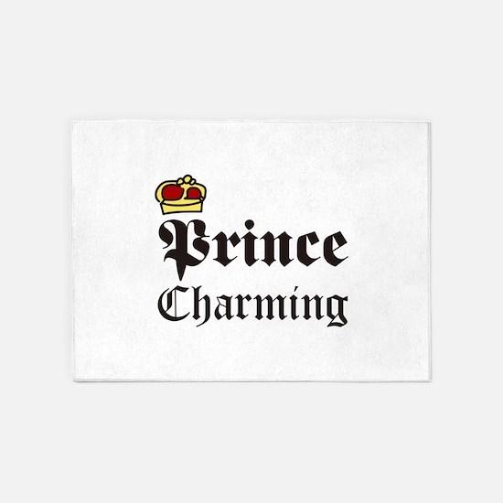 Prince Charming 5'x7'Area Rug