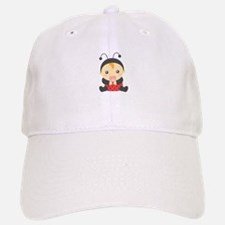 Cute Baby Girl in Ladybug Costume Baseball Baseball Baseball Cap