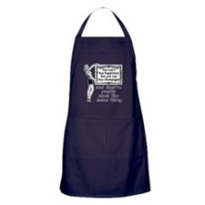 Cool Happiness is Apron (dark)