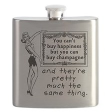 Cute Champagne Flask