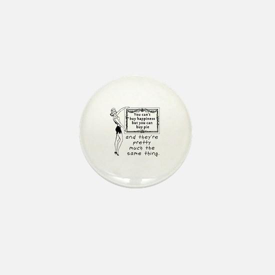 Happiness Pie Mini Button