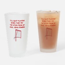 HOCKEY2 Drinking Glass