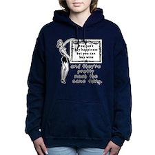 Wine Happiness Women's Hooded Sweatshirt