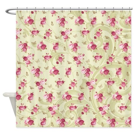 Madame Butterfly Shower Curtain