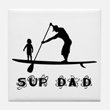 SUP_DAD Tile Coaster
