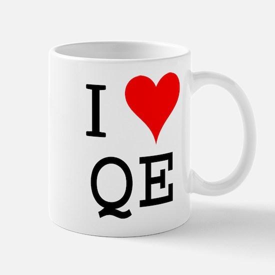 I Love QE Mug