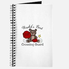 Worlds Best Crossing Guard Journal