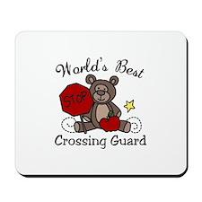 Worlds Best Crossing Guard Mousepad