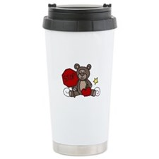 Crossing Guard Bear Travel Mug
