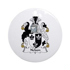 Nelson II Ornament (Round)