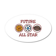 Future All Star Wall Decal