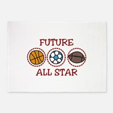 Future All Star 5'x7'Area Rug