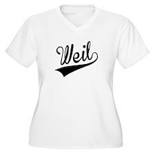 Weil, Retro, Plus Size T-Shirt