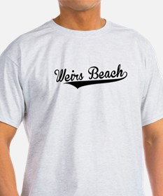 Weirs Beach, Retro, T-Shirt