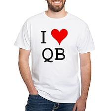 I Love QB Premium Shirt