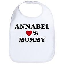 Annabel loves mommy Bib