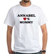 Annabel loves mommy Shirt