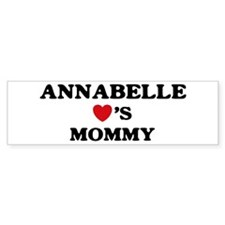 Annabelle loves mommy Bumper Bumper Sticker