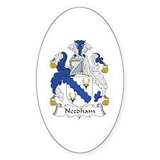 Needham Oval Decal