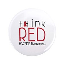 "tHink RED 3.5"" Button"