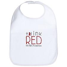 tHink RED Bib