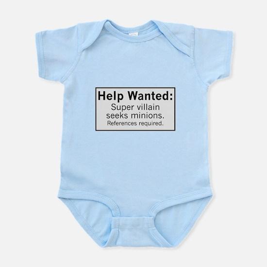 Minions Wanted Infant Bodysuit