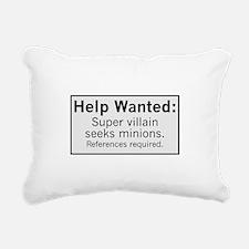 Minions Wanted Rectangular Canvas Pillow