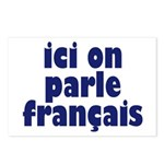 Ici on Parle Francais Postcards (Package of 8)