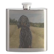 Gordon Setter Flask
